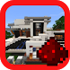 Redstone House map for MCPE by Corporis