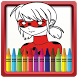 Coloring Book for Ladybug by Aladdin Coloring