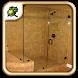 Corner Glass Shower Doors by Nasal Goo
