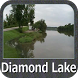 Diamond Lake - IOWA GPS Map by FLYTOMAP