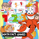 Cool Math fact games for kids by kids game learn