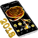 Free Themes for Android Golden by NK.ART