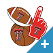 Texas Tech Red Raiders PLUS Selfie Stickers by 2Thumbz, Inc
