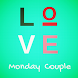 Love Monday Couple Running Man by Cowgrass Media