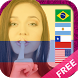 Flag on face - latin america by Moulami Technology