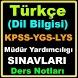 Türkçe Dil Bilgisi Ders Notu by MTT