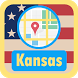 USA Kansas Maps by USA Maps and Street DIrections