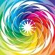 Color Swirl GO Keyboard by MM Designs