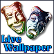 Theater Acting Masks LIVE WP by Justin Fisher