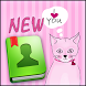 GO Contacts Pink Kitties by Pack Of Themes