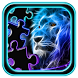 Neon Animals Jigsaw Puzzle by Puzzles and MatchUp Games