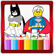 Coloring Book for Lego Super Heroes
