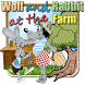 Wolf and rabbit - at the farm by Denis Leschinskiy