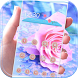 Pink Rose Diamond Theme by SkyCity Apps