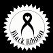 Black bow Black ribbon by RmCmRich
