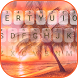 Summer Beach Theme&Emoji Keyboard by Keyboard Fantasy