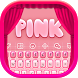 Pink Keyboard by Keyboard Themes with Emojis for Android