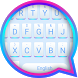 Blue Tune Theme&Emoji Keyboard by Emoji GIF Maker Fans