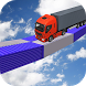 Truck Stunt Mega Truck Driving by Finger Touch Games