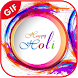 Color Holi GIF 2018 by Think Apps Studio