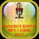 Dangdut Koplo Terbaru 2017 Mp3 Lirik by Zagosck Apps