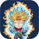 super saiyan goku warrior adventure by halloweencity