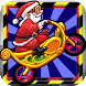 Santa claus Rider Racing by app 4 you