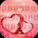 Sweet Love Heart Theme&Emoji Keyboard by Emoji GIF Maker Fans