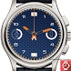 blue android wear watch face by androidworld