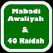 Mabadi Awaliyah + Ushul Fiqih
