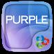Purple Go Launcher Theme by Freedom Design