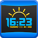 Accurate Weather Digital Clock by Customize My Phone