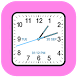 Analog Clock Square Classic by Digital World's