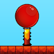 Red Bouncing Ball Jump Spikes by Games Vision