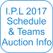 IPL 2017 Schedule And Info by Cashless India