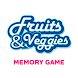 Fruits and Veggies Memory Game by Ibrandify
