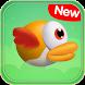 Flappy Cartoon - Yellow Flying Bird by TuoiUon