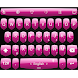 Keyboard Theme Shield Pink by Luklek