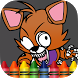 Coloring FNAF Nights book by coloring for fan of anime and cartoon