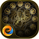 Gold Watch - eTheme Launcher by Egame Studio