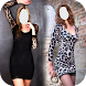 Girl Short Dress Photo Montage by ann-apps