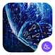 Blue Butterfly-APUS Launcher stylish theme by CoolAppPub
