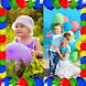 Balloons Photo Collage by Energy Collage