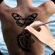 Draw Tattoos on My Body by Manila Mobi