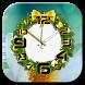 Christmas clock live wallpaper by 3 Steps Developer