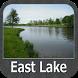 East Lake - IOWA GPS Map by FLYTOMAP