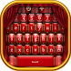 Red Keyboard by Keyboard Themes with Emojis for Android