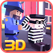 Blocky Robbers VS Cop Craft 3D by Nation Games 3D