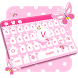 Pink Cute Keyboard by Keyboard Tema Designer