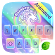 Rainbow Unicorn GO Keyboard Animated Theme by GOMO Dev Team